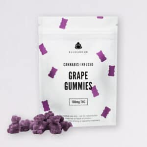 buudabomb grape gummies