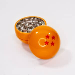 Three layer, four star Dragon Ball Z weed grinder