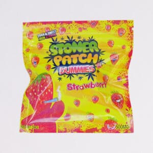stoner patch dummies strawberry edibles